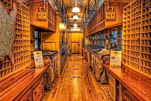 railroad museum train geotagged nc nikon mail postoffice northcarolina southern postal spencer hdr postalservice topaz southernrailway photomatix tonemapped d80 dougjohnson nctransportationmuseum topazadjust geo:lat=35685542 geo:lon=80436085 bigjohnsonphotoblogspotcom
