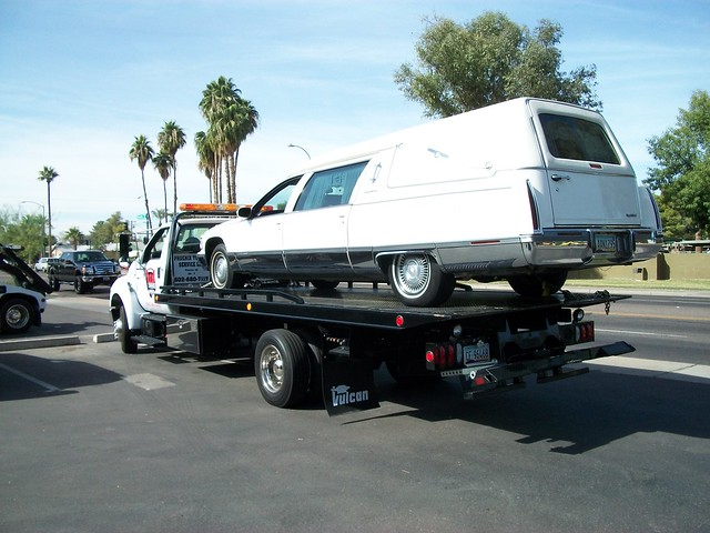 Limo Towing Hurst Funeral Towing Flickr Photo Sharing
