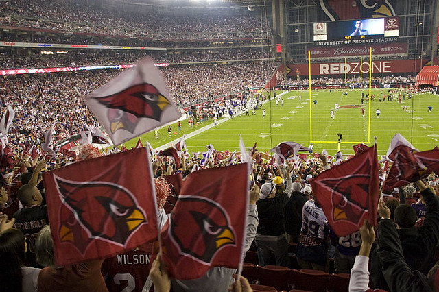 Too many Cardinal flags! from Flickr via Wylio