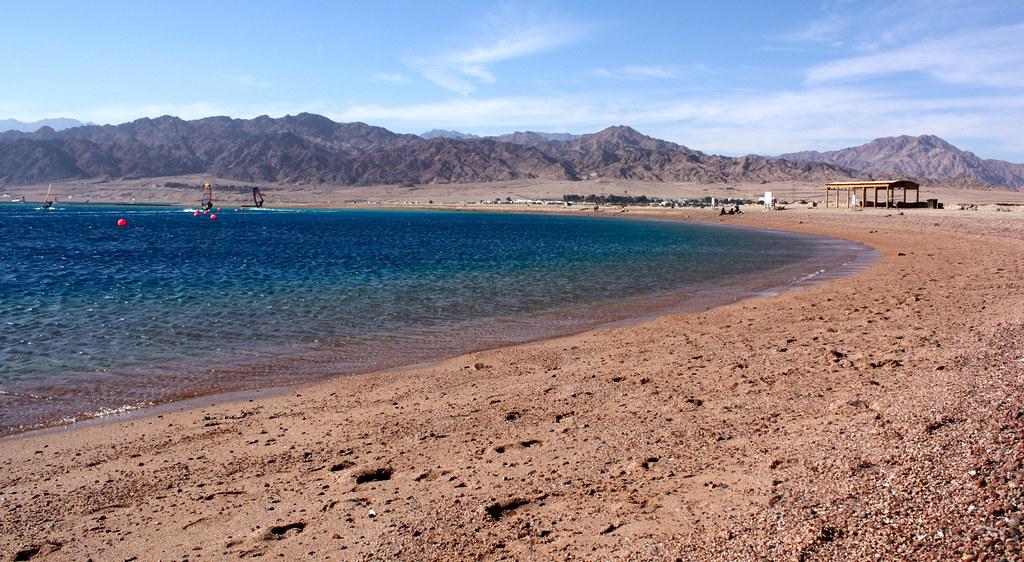 пляж дахаб