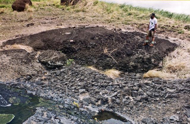 Bole creek lava breccia
