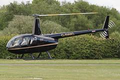 G-SWIG - 2007 build Robinson R44 Raven I, visiting Barton