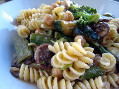 pasta salad, vegetable, fusilli, vegetarian food, pasta, food, dish, carbonara, rotini, cuisine,