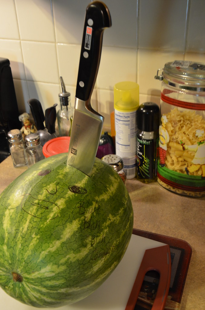 Butcher Knife in Watermelon
