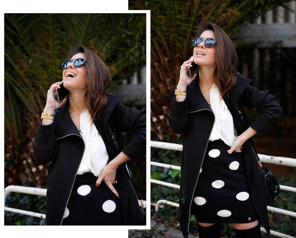 010__skirt_dots_black_and_white_outfit_theguestgirl_ruga_shop_online_long_boots