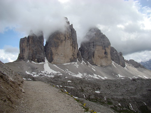 Tre Cime, slightly closer!