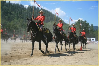 Castlegar RCMP Musical Ride