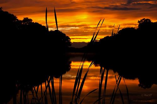 sunset red usa lake newjersey unitedstatesofamerica nj tornado vlad medford medfordlakes tuanton dmclx3 bezden vladnet medfrod vladbezden