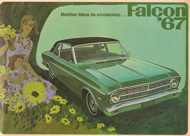 1967 Falcon Auto Advert