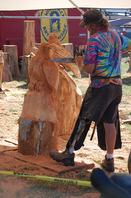 Chainsaw wood carving flickr photo sharing