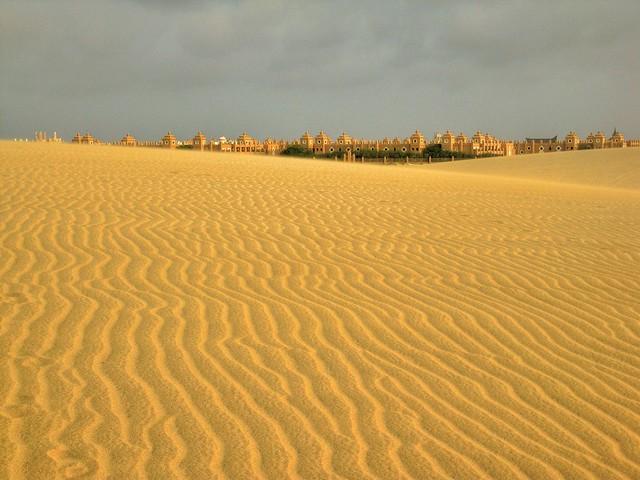 Not exactly desert...