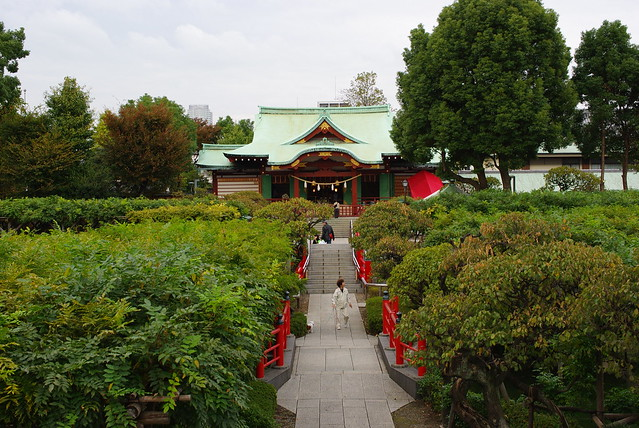 亀戸天神境内 Kameido Tenjin Shrine precincts