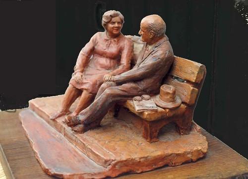 caricatuira in scultura zii