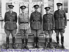 1930s British Army Generals Uniforms In Wear 1 The Prefer Flickr