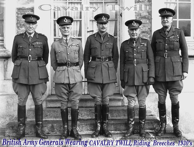 1930 S British Army Generals Uniforms In Wear 1 Flickr