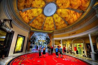 Wynn hotel& casino interior