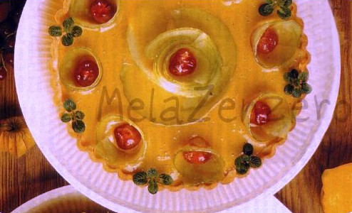 Torta di limone e cedri