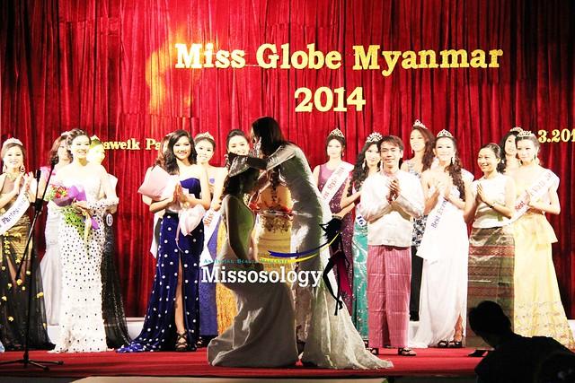 Miss Globe Myanmar 2014