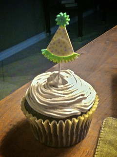 Chocolate Cupcake with Espresso Buttercream Frosting