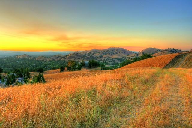 Sunset - Shell Ridge