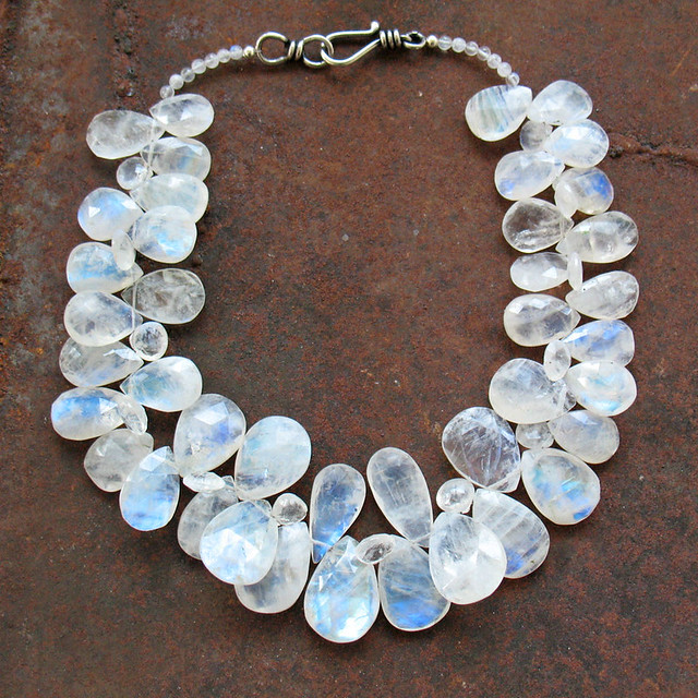 Moonstone Necklaces: Flickr - Photo Sharing