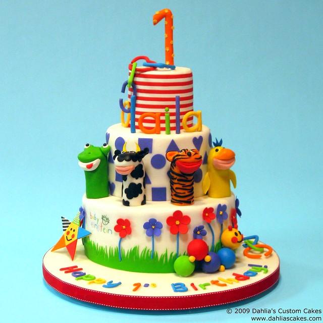 Baby Einstein Birthday Cake  1st Birthday cake for Baby Ein ...