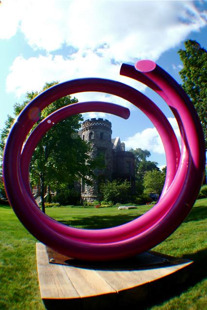 John Clement Art Prize Sculpture at Castle 8-12-09 1