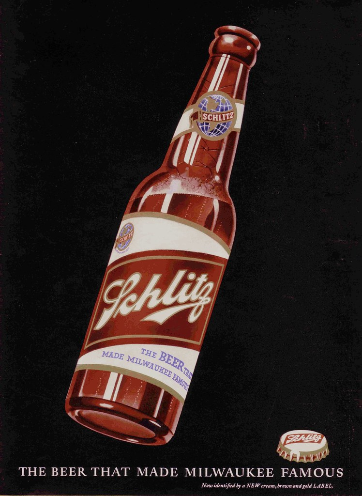 Schlitz - published in Life - March 11, 1940