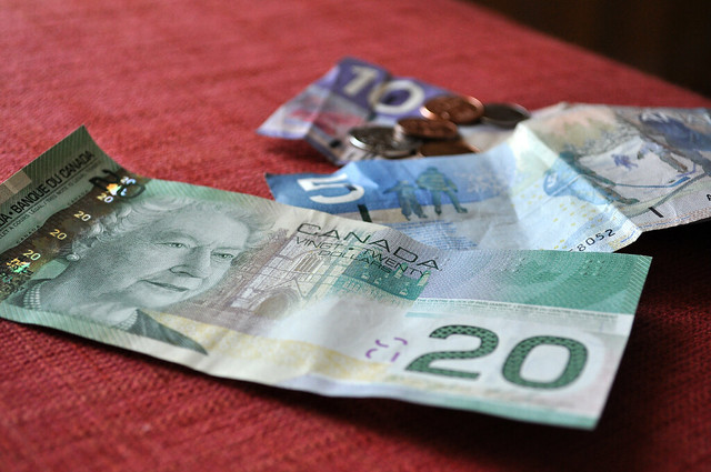Canadian Money by http://www.flickr.com/photos/goodncrazy/