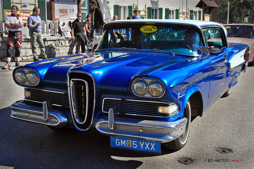 EDSEL vintage US car © Copyright by Bernhard Egger :: eu-moto images classic cars 6559