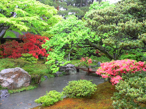 Garden in Kyoto Imperial Palace