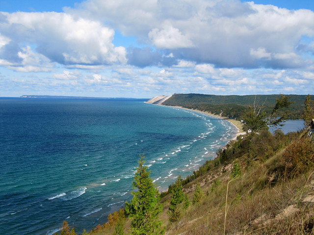 Sleeping Bear Dunes by CC user rkramer62 on Flickr