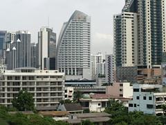 Apartments in bangkok, View from Newley and Anasuya's Apartment in Bangko…
