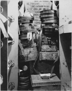 Nitrate Film Stored in a Brick Vault Located between the Fifth and Sixth Wings of the Navy Department, August 9, 1935