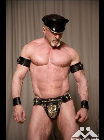 Leather porn gay Hot