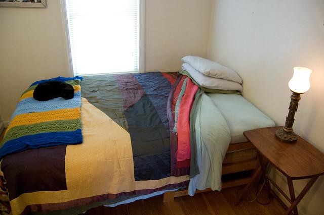 greener guest room