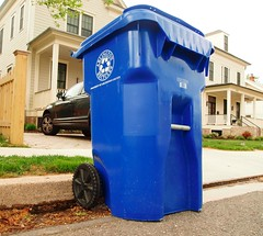 Recycle bin from Arlington County