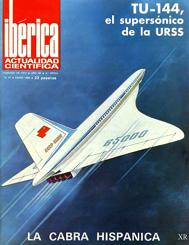 ... Soviet supersonic transport!