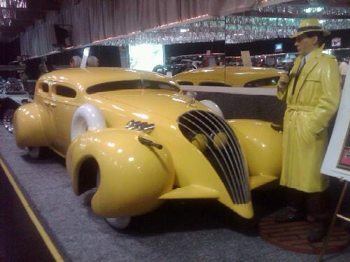 dick tracy car