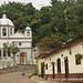 Church at the End of the Street - Ruta de las Flores, El Salvador