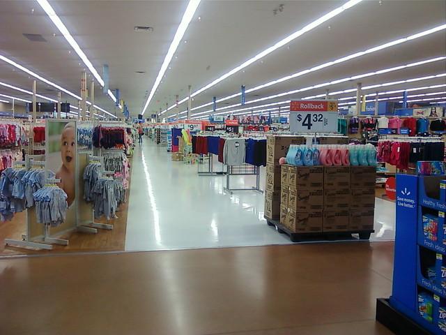 Wal Mart Faribault Minnesota Back Action Alley
