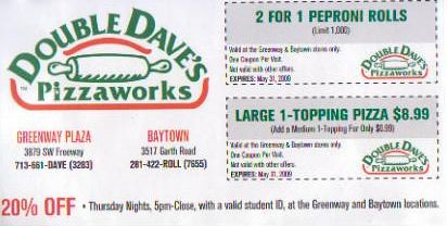 Double Dave's Coupon & Deals Shop on twinarchiveju.tk 3 hottest Double Dave's coupon codes and sales in November are here for you. Well, today's star coupon is @ Double Dave's Coupon & Deals.