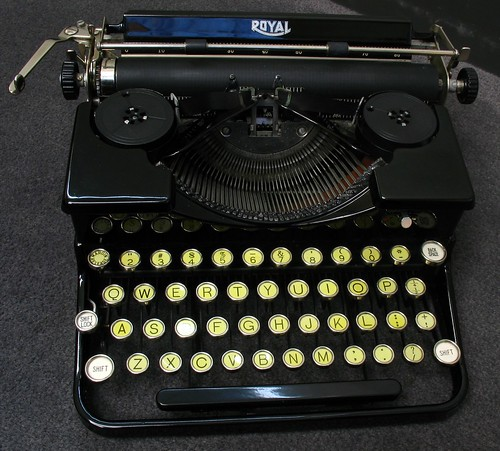 "Royal Portable Model ""O"" c1932"