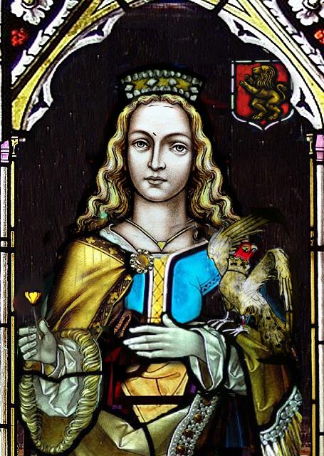 Leonor de Aquitania reina de Inglaterra duquesa de Aquitania