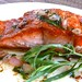 Salmon with Tarragon & Shallot Butter Sauce