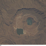 Deriba Caldera, Sudan (NASA, International Space Station Science, 10/29/08)