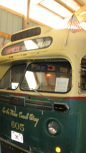 Preserved 1951 Gm Tdh Series Old Look Transit Bus From The