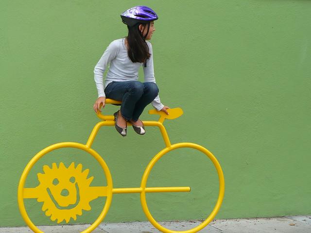 Sunny Bike Rack
