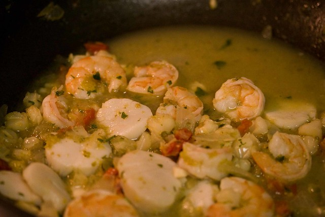 shrimp and scallop posole | Flickr - Photo Sharing!
