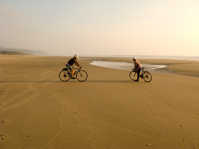 Cycling the Oregon Coast: Yachats